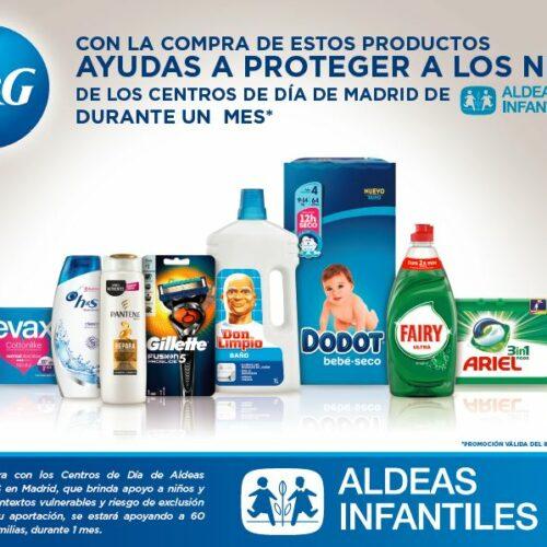 P&G pone en marcha una campaña para apoyar a Aldeas Infantiles SOS en su misión de ayudar a niños en riesgo de exclusión