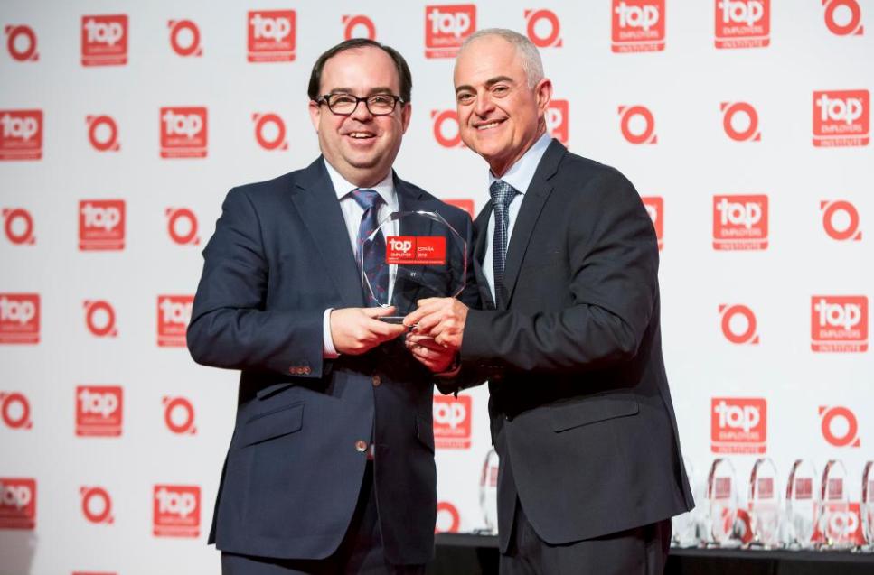 EY obtiene la certificación 'Top Employers 2019'