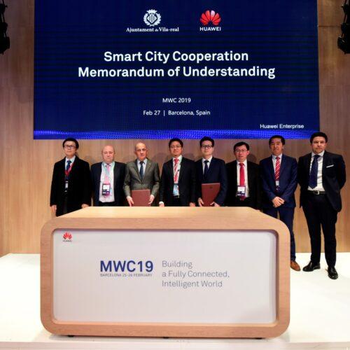 Huawei Empresas y el Ayuntamiento de Vila-real firman un Memorándum de Entendimiento para desarrollar una ciudad inteligente