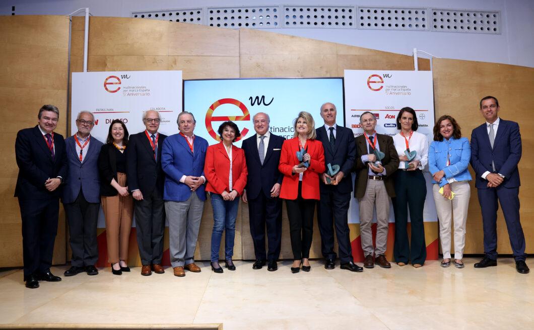 Leroy Merlin, Nespresso y Ecodes, ganadores de  los Premios Multinacionales por marca España RSC 2019