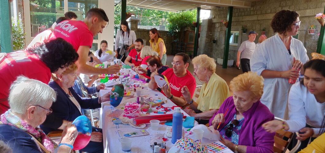 Aon colabora de forma solidaria con entidades de todo el mundo en su Aon United Day for Communities