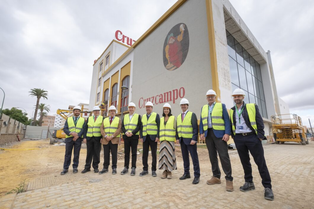 El proyecto que transformará la fábrica original de Cruzcampo en una fábrica de experiencias abrirá en mayo