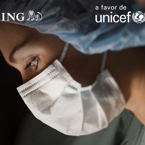 ING y sus clientes donan a UNICEF 1,7 millones de euros  para la lucha contra el COVID-19 en España