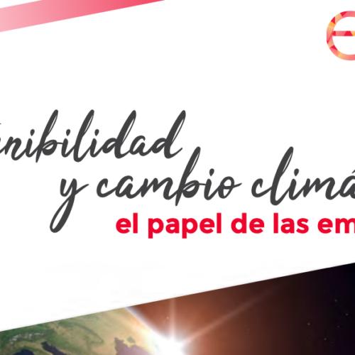Informe «Sostenibilidad y cambio climático: el papel de las empresas»