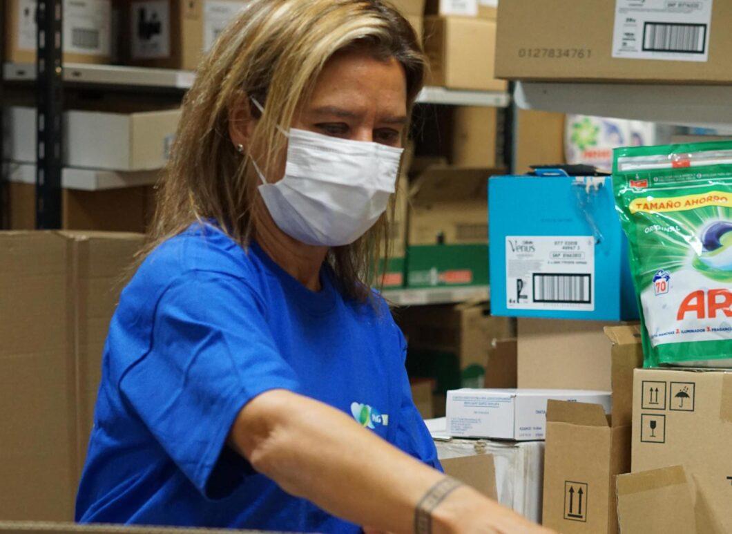 P&G ayudó a más de 240.000 personas en 2020 con sus programas de acción social
