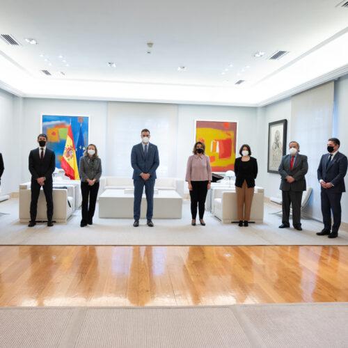Multinacionales por marca España se reúne con el presidente del Gobierno en La Moncloa